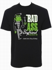 1 x BAD ASS BOYFRIEND SHIRT - MEN