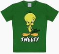 1 x KIDS SHIRT - TWEETY GR�N - LOONEY TOONS
