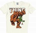 Logoshirt - Das Ding Shirt - Marvel - Weiss