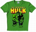 1 x LOGOSHIRT - HULK SHIRT - MARVEL - GRN