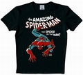 Logoshirt - Spiderman Shirt - Marvel - Schwarz