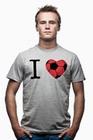 Fussball Shirt - I Love T-Shirt
