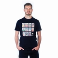 1 x FUSSBALL SHIRT - MOUSTACHE DREAM TEAM T-SHIRT