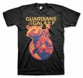 1 x GUARDIANS OF THE GALAXY VOL. 2 T-SHIRT ROCKET & GROOT