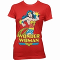 1 x WONDER WOMAN GIRLIE SHIRT WONDER WOMAN