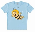 1 x LOGOSHIRT - BIENE MAJA SHIRT - FLYING