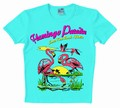 1 x LOGOSHIRT - FLAMINGO PARADISE - SHIRT