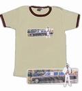 Cadillac Guy Retro Shirt - Tan chocolate