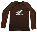1 x HONDA LONG SLEEVE - BRAUN
