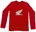 Honda Long Sleeve - rot - shirt