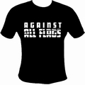 1 x AGAINST ALL FLAGS SHIRT