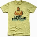 x AMERICAN CLASSICS - I PITY YOU, FOOL - SHIRT - HELLGELB