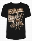 1 x BLACK BALL BASTIQUE - STEADY CLOTHING T-SHIRT