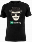 9 x BREAKING BAD T-SHIRT HEISENBERG WALTER WHITE - SCHWARZ
