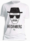 2 x BREAKING BAD T-SHIRT HEISENBERG WALTER WHITE - WEISS