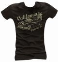 1 x CALIFORNIA CRUISIN 57 - GIRL SHIRT SCHWARZ