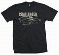 1 x CHALLENGER 440 - MEN SHIRT SCHWARZ