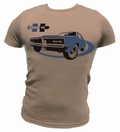 14 x CHARGER 69 SHIRT - BRAUN