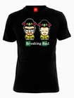 1 x COMIC DUO T-SHIRT - SCHWARZ - BREAKING BAD