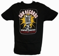 2 x ELECTRIC MIC SUN RECORDS - STEADY CLOTHING T-SHIRT
