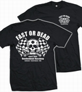 1 x FAST OR DEAD - MEN SHIRT SCHWARZ