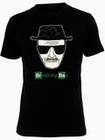 1 x HEISENBERG PIC BREAKING BAD T-SHIRT - SCHWARZ - BREAKING BAD