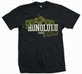1 x HONOLULU CHILLOUT - MEN SHIRT SCHWARZ