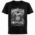 x JOHNNY CASH T-SHIRT LABEL