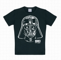 2 x KIDS SHIRT - STAR WARS - DARTH VADER - PORTRAIT SCHWARZ