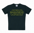 Kids Shirt - Star Wars - Logo Schwarz
