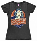 5 x LOGOSHIRT - DC WONDER WOMAN PORTRAIT - GIRL SHIRT