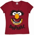 Logoshirt - Muppets Faces Animal - Girl Shirt