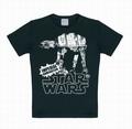 Logoshirt - Star Wars Shirt AT-AT Schwarz