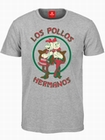 2 x LOS POLLOS HERMANOS T-SHIRT - GRAU - BREAKING BAD