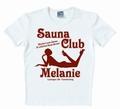 Logoshirt - Sauna Club Melanie Weiss - shirt