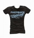 Mustang Fastback - Girl Shirt Schwarz