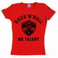 1 x NO TALENT - GIRL SHIRT - ROT