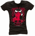 5 x POISON CANDY - GIRL SHIRT SCHWARZ