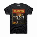 2 x PULP FICTION T-SHIRT COVER VINCENT VEGA & JULES WINNFIELD