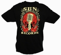 x ROCKABILLY SUN RECORDS - STEADY CLOTHING T-SHIRT