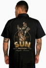 1 x ROOSTERBILLY SUN RECORDS - STEADY CLOTHING WORKER SHIRT