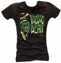 1 x SHRUNKEN HEAD - GIRL SHIRT SCHWARZ