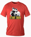 Star Trek T-Shirt Spock & Kirk