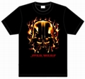 x STAR WARS SHIRT - DARTH VADER FLAMMEN