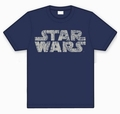 2 x STAR WARS SHIRT - RETRO LOGO