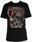 3 x RODS AND BROADS SCHWARZ - STEADY CLOTHING T-SHIRT