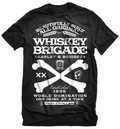 1 x WHISKEY SCHWARZ - STEADY CLOTHING T-SHIRT