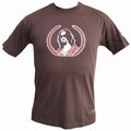 1 x THE DUDE - SHIRT - BRAUN