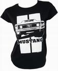 Toxico - Mustang - Girl Shirt - Schwarz