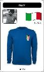 1 x ITALIEN RETRO TRIKOT LANGARM BLAU